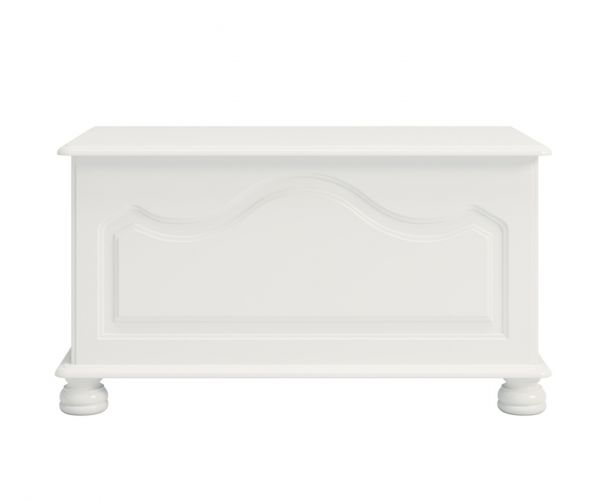 Steens Richmond White Ottoman