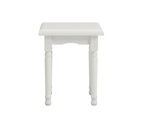 Steens Richmond White Stool