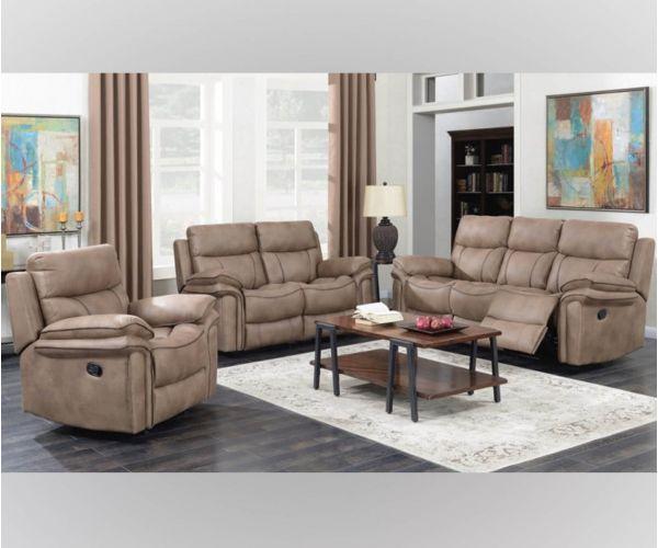 Annaghmore Richmond Sahara Fabric Recliner 3+2 Sofa Suite