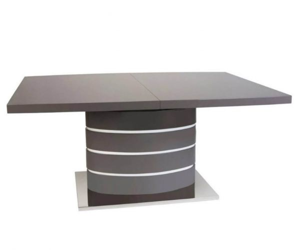 Greenapple Furniture Rimini Grey Extending Dining Table Only