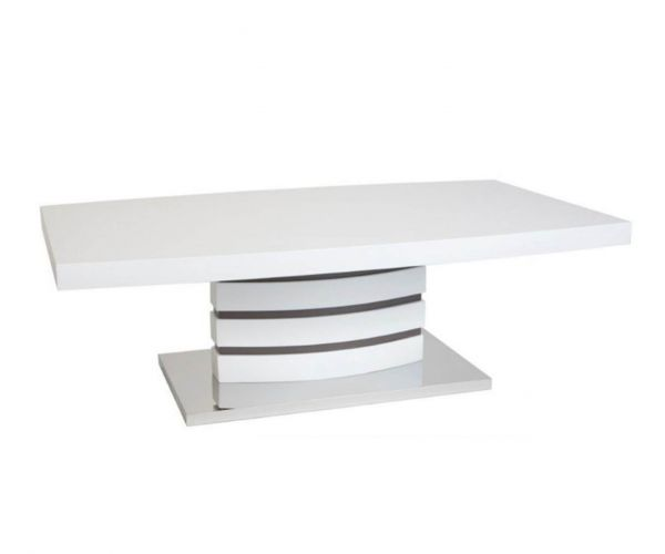 Greenapple Furniture Rimini White Coffee Table