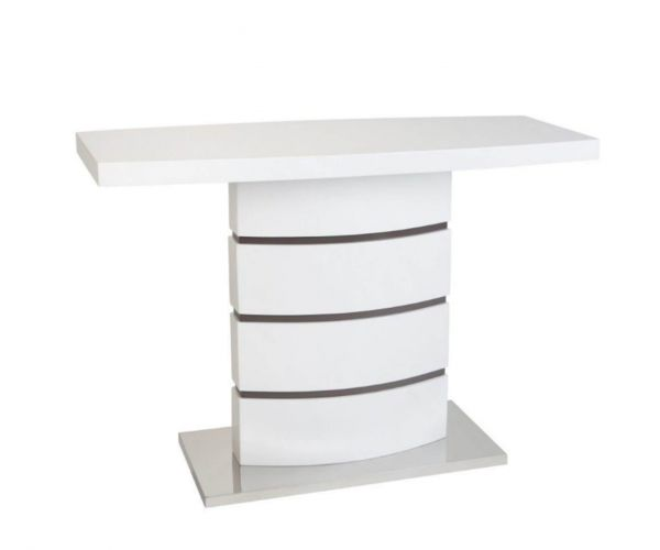 Greenapple Furniture Rimini White Console Table
