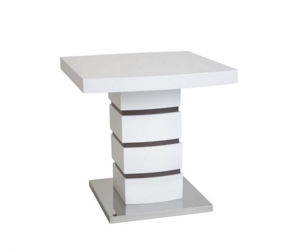 Greenapple Furniture Rimini White Lamp Table