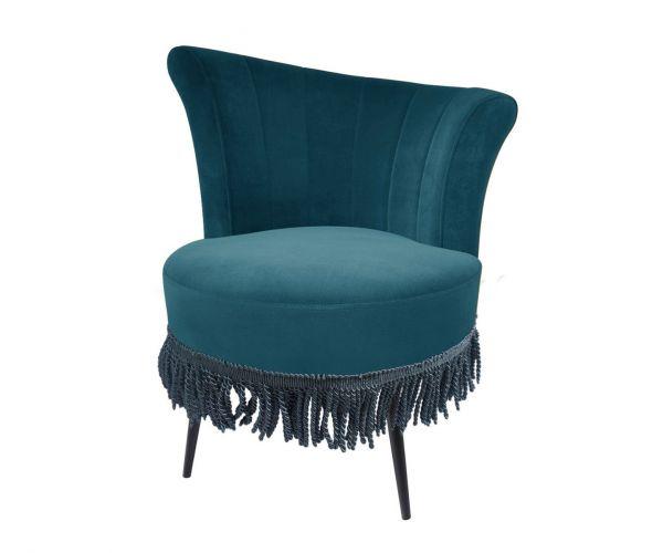 Derrys Furniture Rita Teal Cocktail Chair