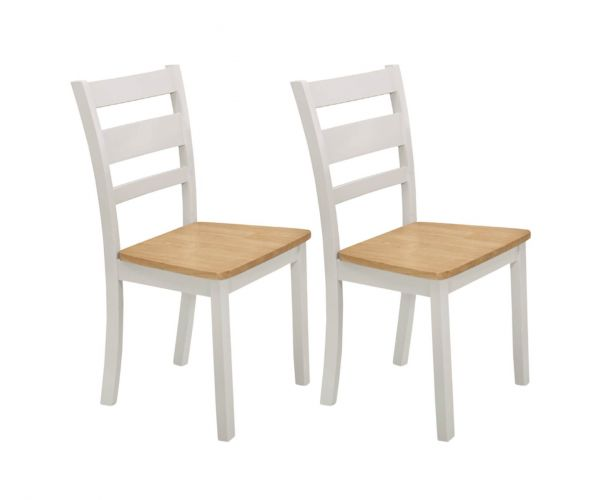 Vida Living Robin Grey Painted Dining Chair in Pair