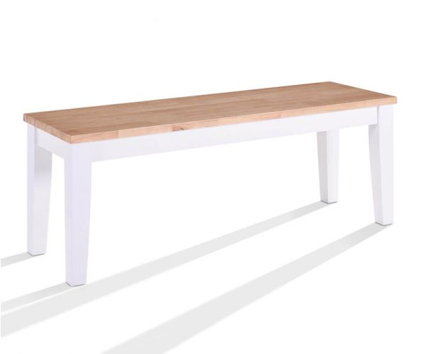 Vida Living Rona Grey Dining Bench