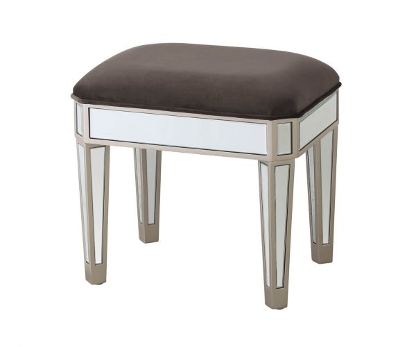 Vida Living Rosa Mirrored Dressing Stool