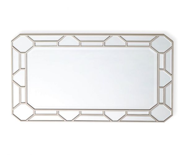 Vida Living Rosa Mirrored Rectangular Wall Mirror