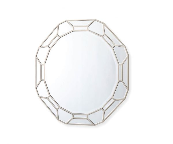 Vida Living Rosa Mirrored Round Wall Mirror