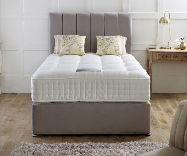 Dura Beds Royal Crown Natural 1000 Pocket Divan Bed Set