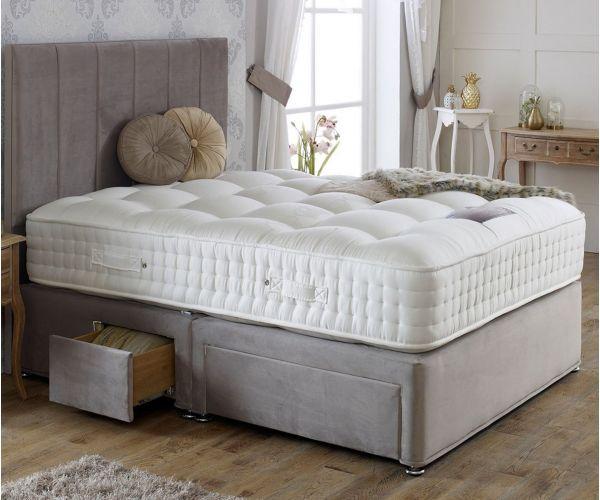 Dura Beds Royal Crown Natural 3000 Pocket Divan Bed Set