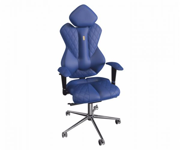 Kulik Royal Midnight Blue Ergonomic Armchair