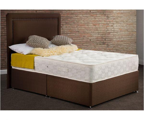 Sweet Dreams Ruben Ortho Chocolate Orthopaedic Ottoman Divan Bed Set