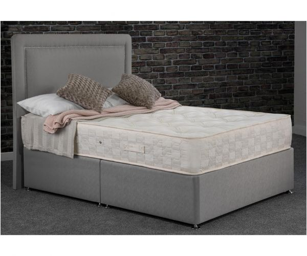 Sweet Dreams Ruben Ortho Grey Orthopaedic Ottoman Divan Bed Set