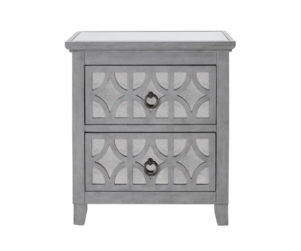 Derrys Furniture Russell 2 Drawer End Table