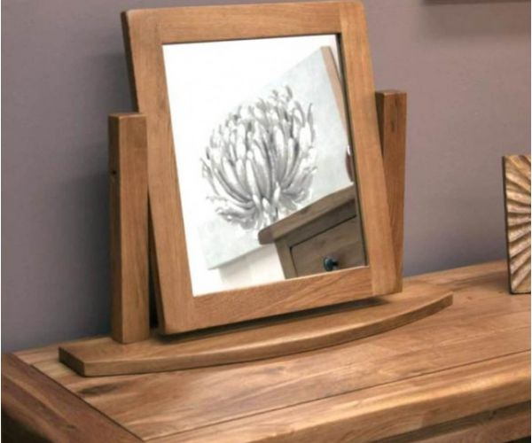 Homestyle GB Rustic Oak Dressing Table Mirror