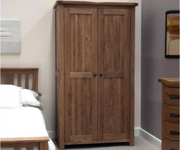 Homestyle GB Rustic Oak Wardrobe