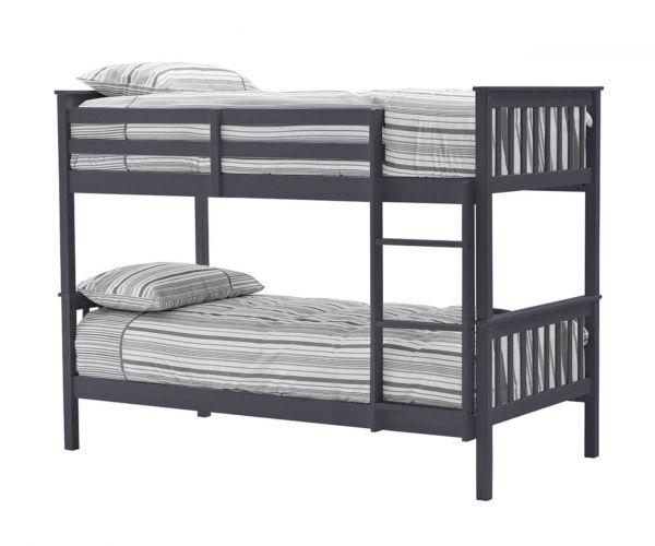 Vida Living Salix Grey Bunk Bed Frame