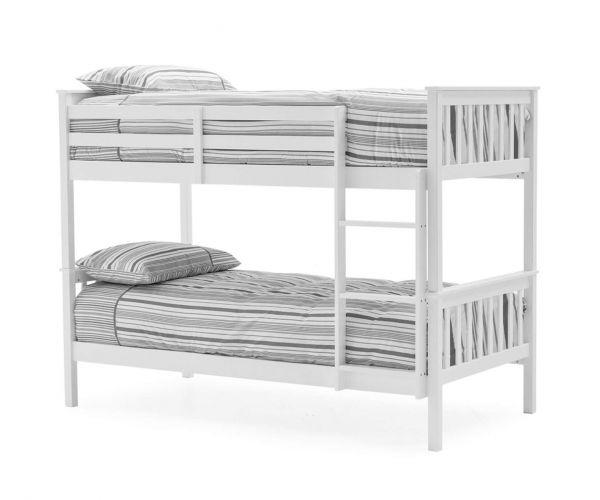 Vida Living Salix White Bunk Bed Frame