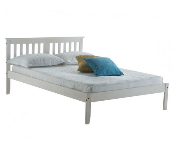 Birlea Furniture Salvador White Washed Bed Frame