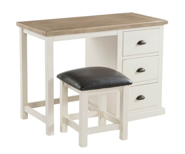 Annaghmore Santorini Painted Dressing Table and Stool