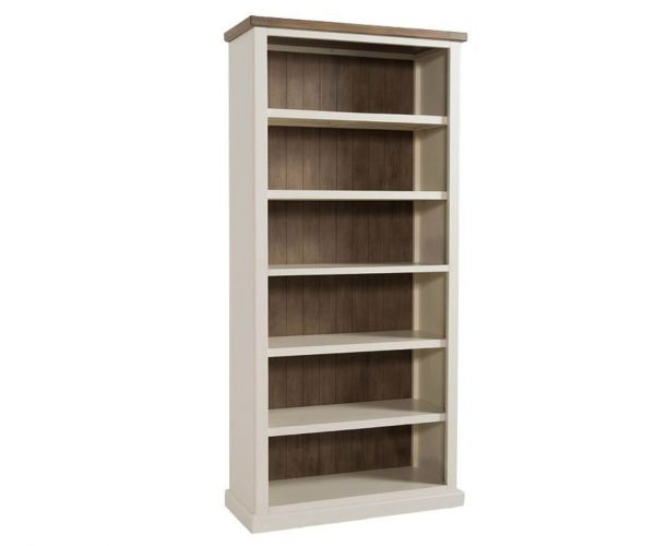 Annaghmore Santorini Painted Large Bookcase