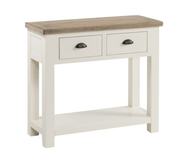 Annaghmore Santorini Painted Large Console Table