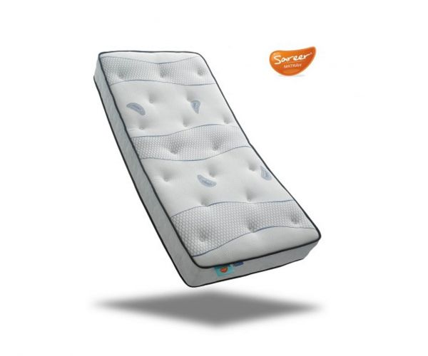 Sareer Cool Blue Pocket Memory Matrah Mattress Only
