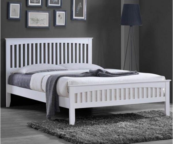 Sareer Sandhurst White Bed Frame