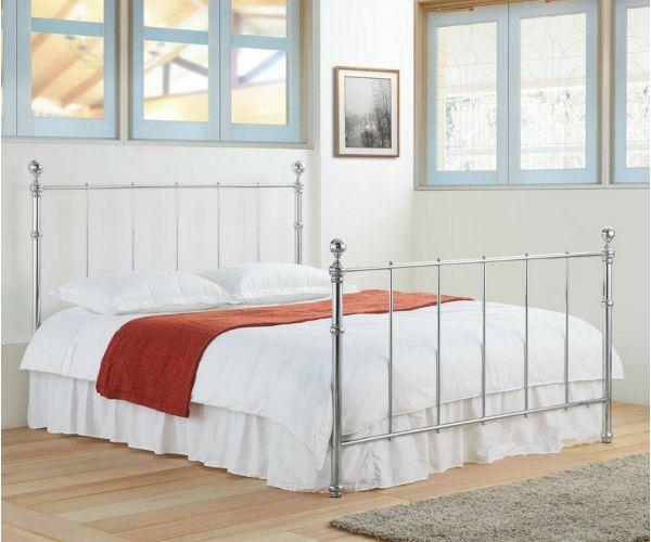 Sareer Seville Chrome Metal Bed Frame