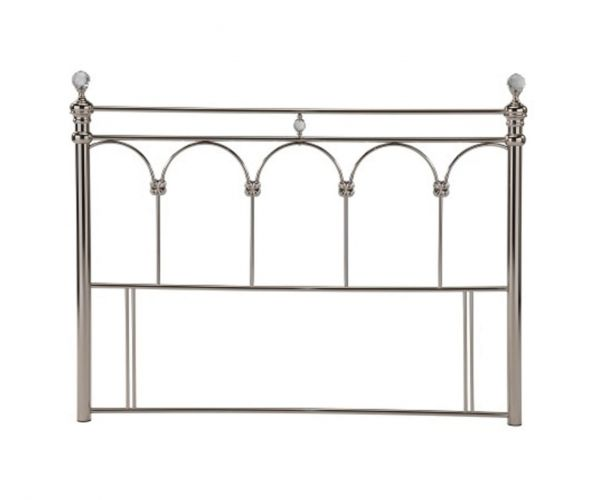 Sareer Sonita Chrome Metal Headboard