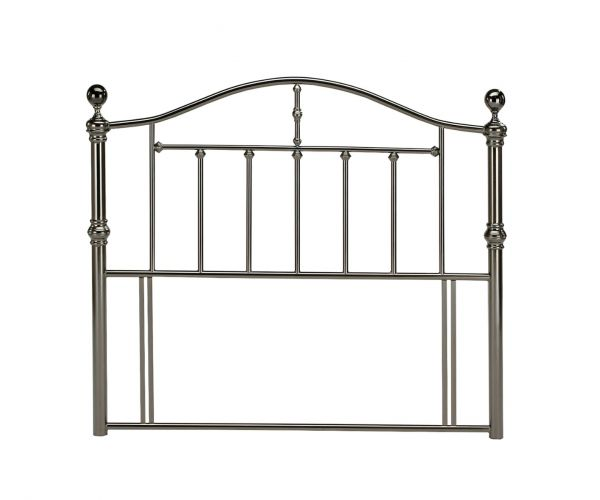 Sareer Victoria Black Nickel Metal Headboard