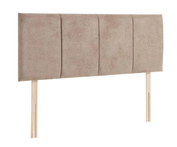 Serene Furnishings Hannah Strutted Upholstered Headboard