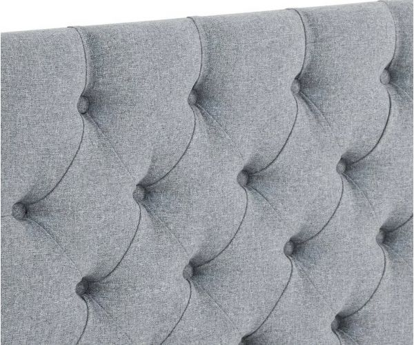 Serene Furnishings Josephine Strutted Upholstered Headboard