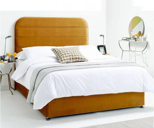 Serene Furnishings Makayla Floor Standing Upholstered Headboard