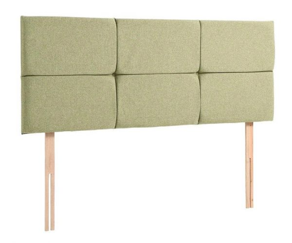 Serene Furnishings Taylor Strutted Upholstered Headboard