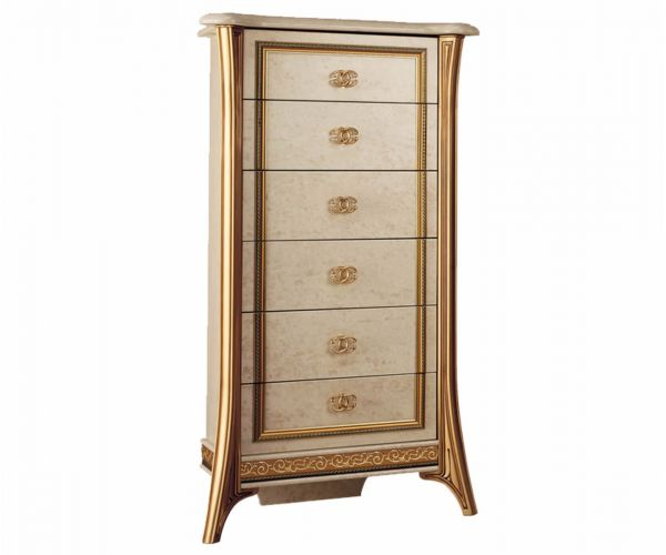Arredoclassic Melodia Italian 7 Drawer Tall Chest