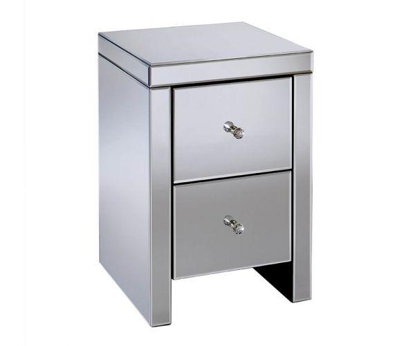 Birlea Furniture Seville 2 Drawer Bedside Cabinet
