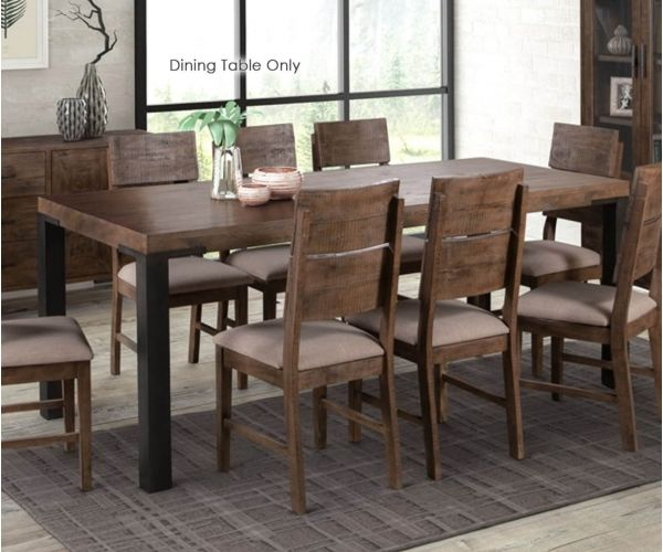 Annaghmore Seville Dark Pine 200cm Dining Table only