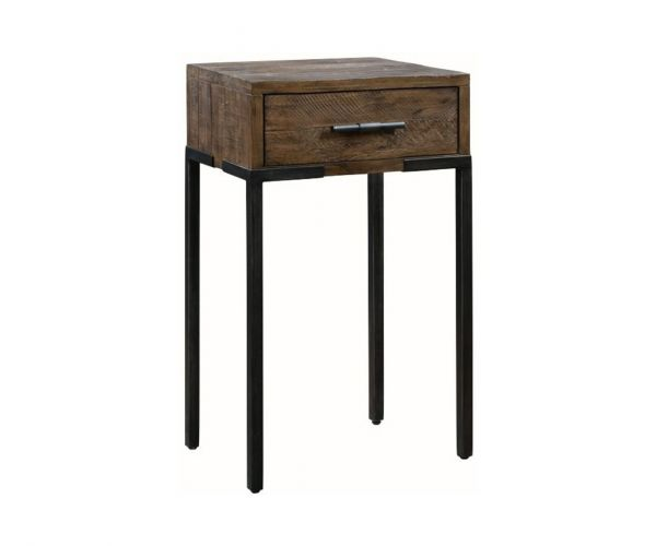 Annaghmore Seville Dark Pine Medium 1 Drawer Console Table