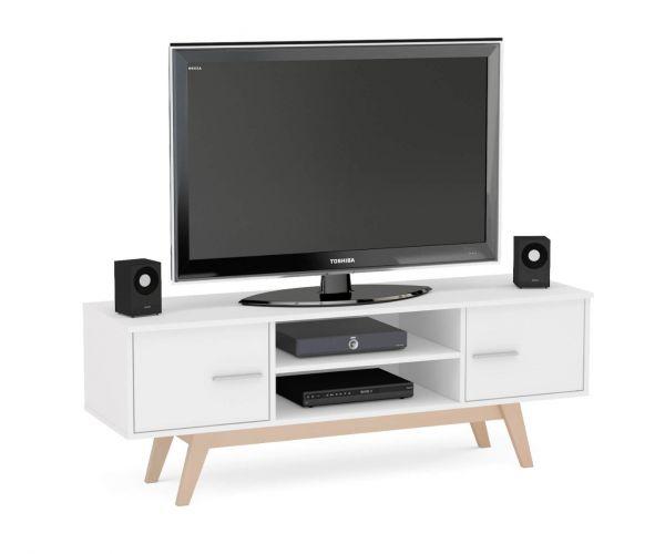 Birlea Furniture Shard White TV Unit