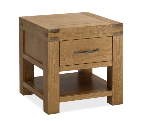 Global Home Sherwood Oak Lamp Table