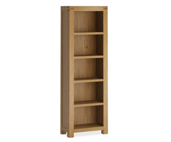 Global Home Sherwood Oak Slim Bookcase