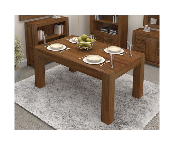Baumhaus Shiro Walnut Small Dining Table Only