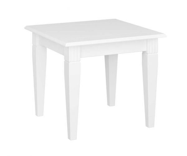Steens Venice White Side Table