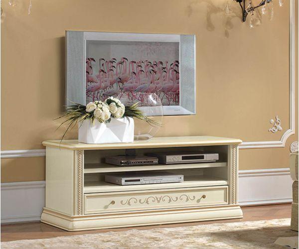 Camel Group Siena Ivory Finish Mini TV Cabinet