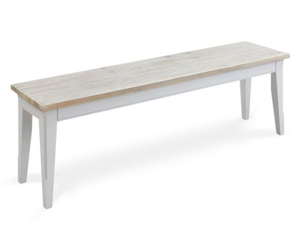 Baumhaus Signature Grey Large Dining Bench