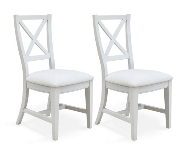 Baumhaus Signature Grey Dining Chair in Pair