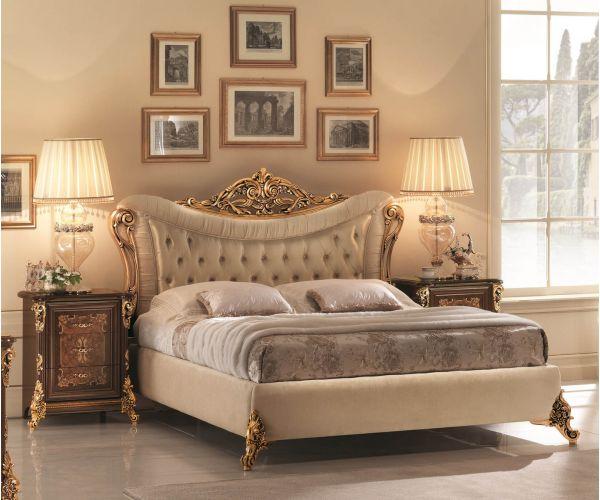 Arredoclassic Sinfonia Italian Upholstered Bed Frame