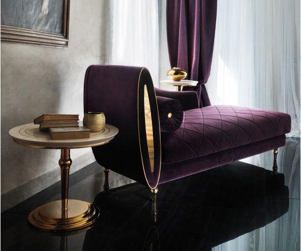 Adora Sipario Italian Chaise Longue